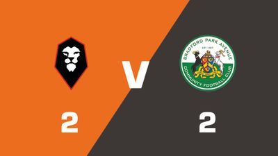 Highlights: Salford City vs Bradford Park Avenue