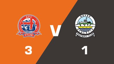 Highlights: AFC Fylde vs Dover Athletic