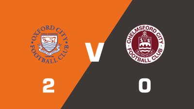 Highlights: Oxford City vs Chelmsford City