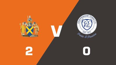 Highlights: St. Albans City vs Chippenham Town