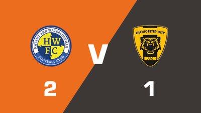 Highlights: Havant & Waterlooville vs Gloucester City