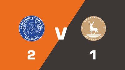 Highlights: Aldershot Town vs Hartlepool United