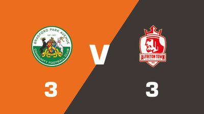 Highlights: Bradford Park Avenue vs Alfreton Town