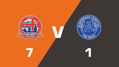 Highlights: AFC Fylde vs Aldershot Town