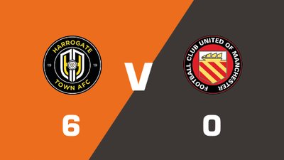 Highlights: Harrogate Town vs FC United Of Manchester
