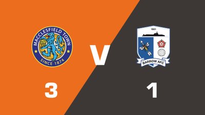 Highlights: Macclesfield Town vs Barrow