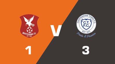 Highlights: Whitehawk vs Chippenham Town