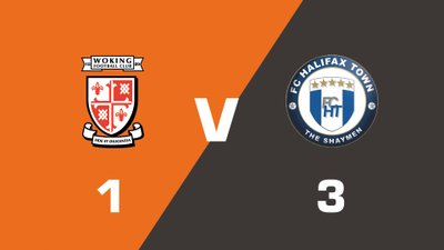 Highlights: Woking vs FC Halifax Town