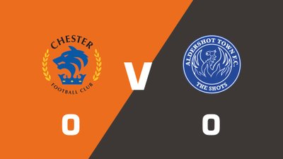 Highlights: Chester vs Aldershot Town