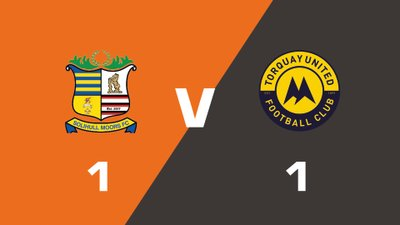 Highlights: Solihull Moors vs Torquay United