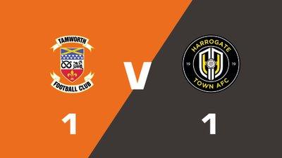 Highlights: Tamworth vs Harrogate Town