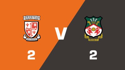 Highlights: Woking vs Wrexham