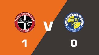 Highlights: Truro City vs Havant & Waterlooville