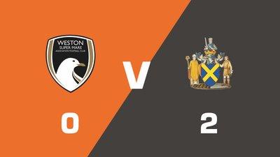 Highlights: Weston-Super-Mare vs St. Albans City