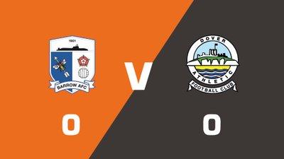 Highlights: Barrow vs Dover Athletic