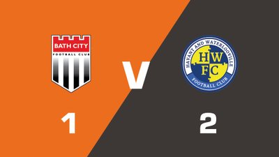 Highlights: Bath City vs Havant & Waterlooville