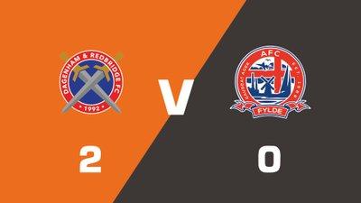Highlights: Dagenham and Redbridge vs AFC Fylde