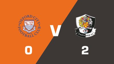 Highlights: Oxford City vs Dartford