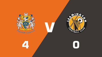 Highlights: Stockport County vs Leamington