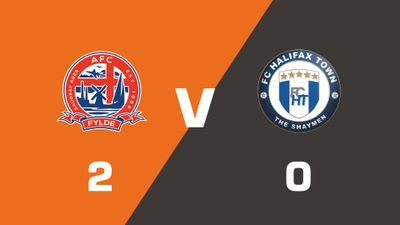 Highlights: AFC Fylde vs FC Halifax Town