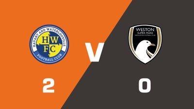 Highlights: Havant & Waterlooville vs Weston-Super-Mare