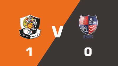 Highlights: Dartford vs Hampton & Richmond Borough