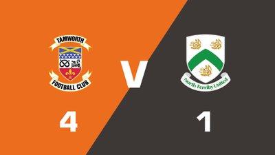 Highlights: Tamworth vs North Ferriby United
