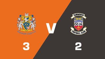 Highlights: Stockport County vs Tamworth