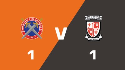 Highlights: Dagenham and Redbridge vs Woking