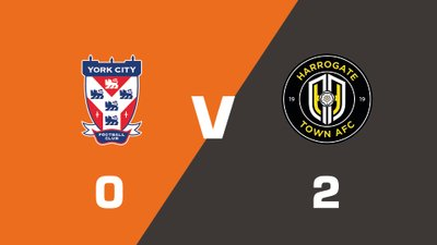 Highlights: York City vs Harrogate Town