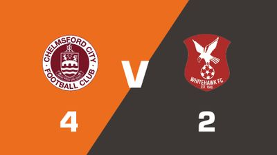 Highlights: Chelmsford City vs Whitehawk
