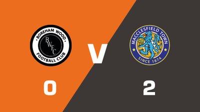 Highlights: Boreham Wood vs Macclesfield Town