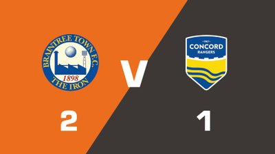 Highlights: Braintree Town vs Concord Rangers