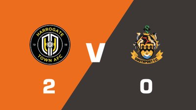 Highlights: Harrogate Town vs Southport