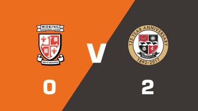 Highlights: Woking vs Bromley