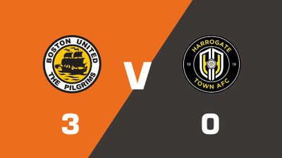 Highlights: Boston United vs Harrogate Town