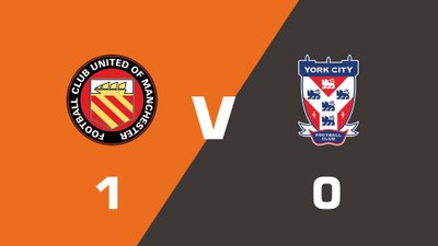Highlights: FC United Of Manchester vs York City