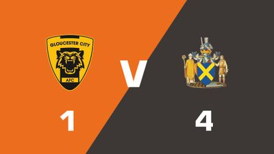 Highlights: Gloucester City vs St. Albans City