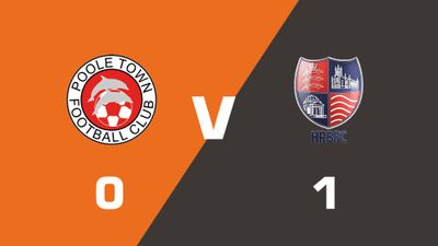 Highlights: Poole Town vs Hampton & Richmond Borough
