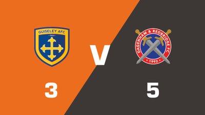 Highlights: Guiseley vs Dagenham and Redbridge