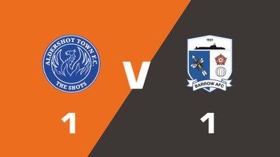 Highlights: Aldershot Town vs Barrow