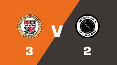 Highlights: Bromley vs Boreham Wood