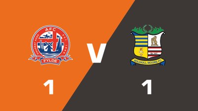 Highlights: AFC Fylde vs Solihull Moors