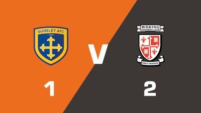 Highlights: Guiseley vs Woking