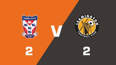 Highlights: York City vs Leamington