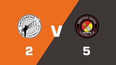 Highlights: Gateshead vs Ebbsfleet United