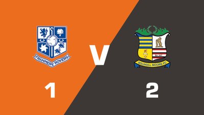 Highlights: Tranmere Rovers vs Solihull Moors