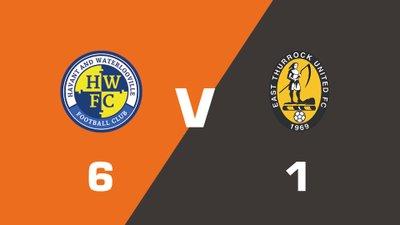 Highlights: Havant & Waterlooville vs East Thurrock United