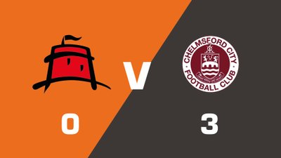 Highlights: Eastbourne Borough vs Chelmsford City