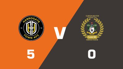 Highlights: Harrogate Town vs Curzon Ashton